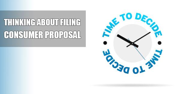 Choosing Consumer Proposal